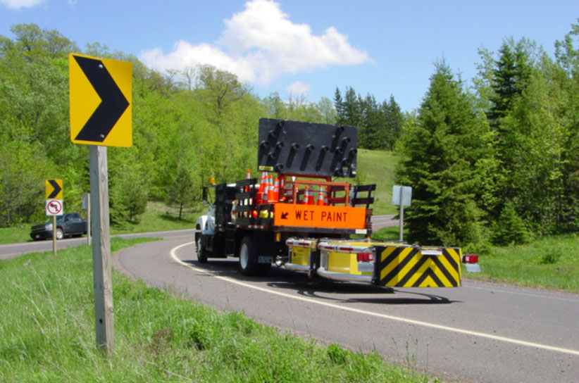 Image of Truck-Mounted Impact Attenuator (TMA)