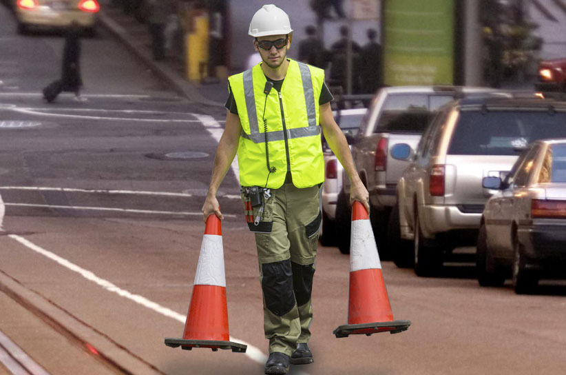 Image of Road Construction Workers